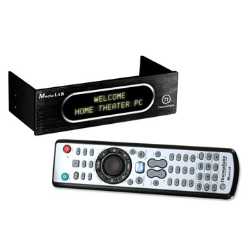 The remote and display